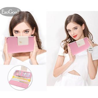 ... busur tas tangan hitam. Source · EsoGoal 2017 wanita multi card dompet kopling ritsleting panjang casing Organizer tempat kartu (pink)