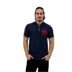 Esprit Polo Shirts Short Sleeve - Navy