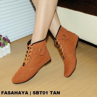 Marlee BKD 02 Sepatu Boots Wanita Hitam Lazada Indonesia Source · Fasahaya Sepatu Wanita Boots Korea