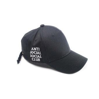 Fashion Casual Adjustable Solid color Baseball Cap Golf snapback hat(black-B) -