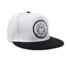Fashion Pria wanita topi Snapback Baseball mata hip hop yang dapat Bboy olahraga topi putih -