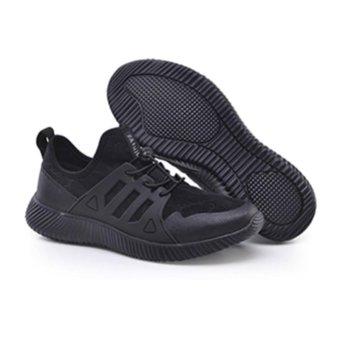 Fashion Running Shoes ZOQI Men's Sports Shoes Sneaker (Black) - intl - 4