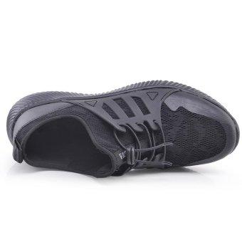 Fashion Running Shoes ZOQI Men's Sports Shoes Sneaker (Black) - intl - 3