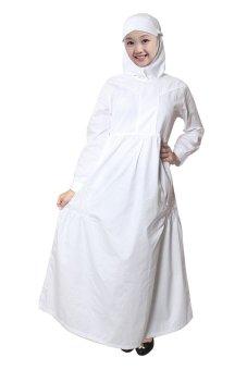Jual Fayrany Busana Muslim Anak Gamis Putih Fgp 005a Putih