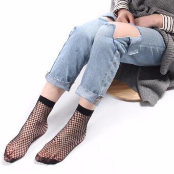 Fishnet Socks Black - Kaos Kaki Jaring