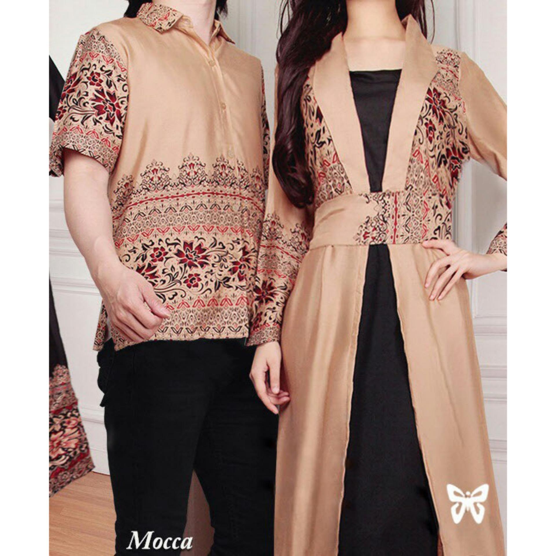 ... Kemeja Pria Gaun Muslimah Gamis Wanita . Source · Jual Beli Flavia Store Batik Couple Fs0080 Coklat Mocca Baju Baru Ladies Fashion Pria Wanita Sepasang