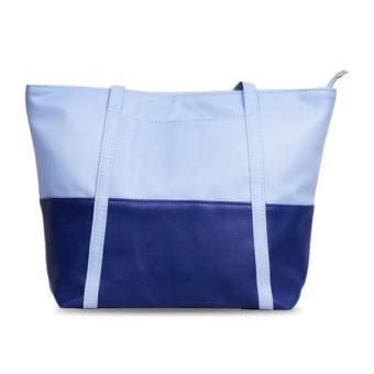 Freeshop Tas Wanita Women Fashion PU Tote Leather Handsbags Shoulder Bag Tote Bag .