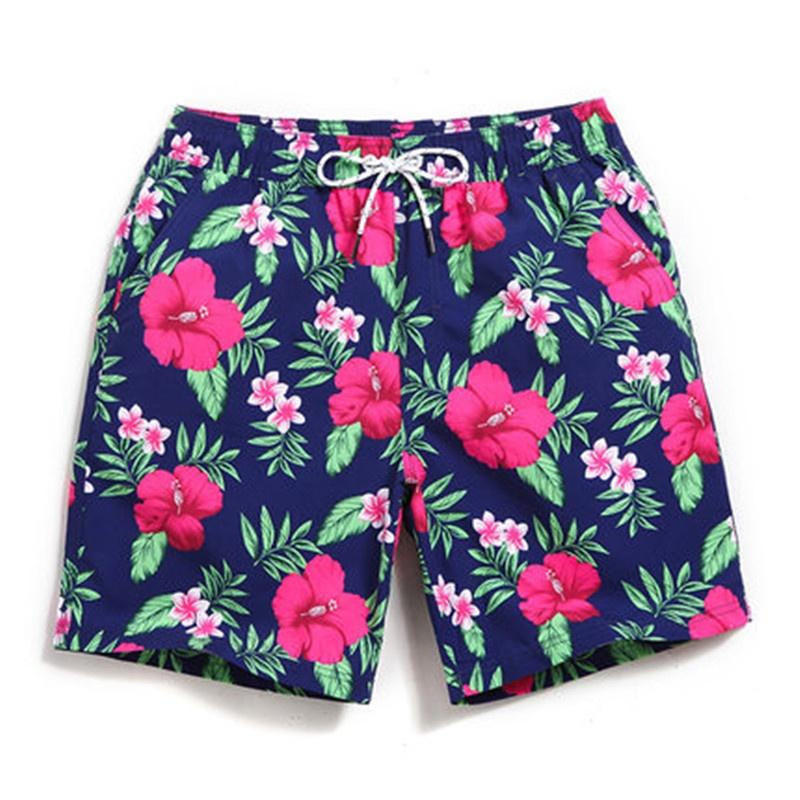 GAILANG pria dan wanita cepat kering ukuran besar celana pendek celana pantai (Model laki-