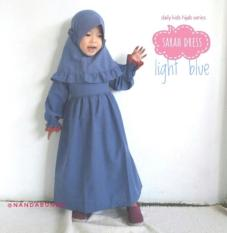 Gamis Anak Katun 7 - 9 Tahun Baju Muslim Anak Perempuan