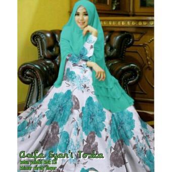 Suki Dress Sabi Syarii Lavender Daftar Harga Terbaru & Terlengkap Source · Gamis Syar i Asifa Tosca