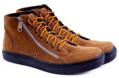 Garucci GSY 1216 Sepatu Sneaker Pria (Tan)