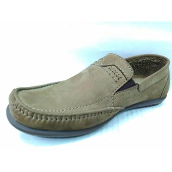 Bandingkan Toko GATS SHOES Sepatu Kulit Pria HK 0002 Olive Cari Bandingkan 2ffb77db1f