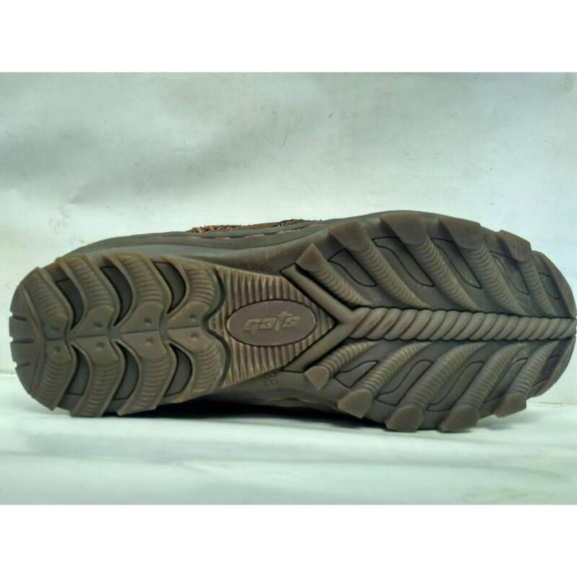eShop Checker GATS SHOES Sepatu Kulit Pria To 2206 Brown Diskon ... 15f8083fa0
