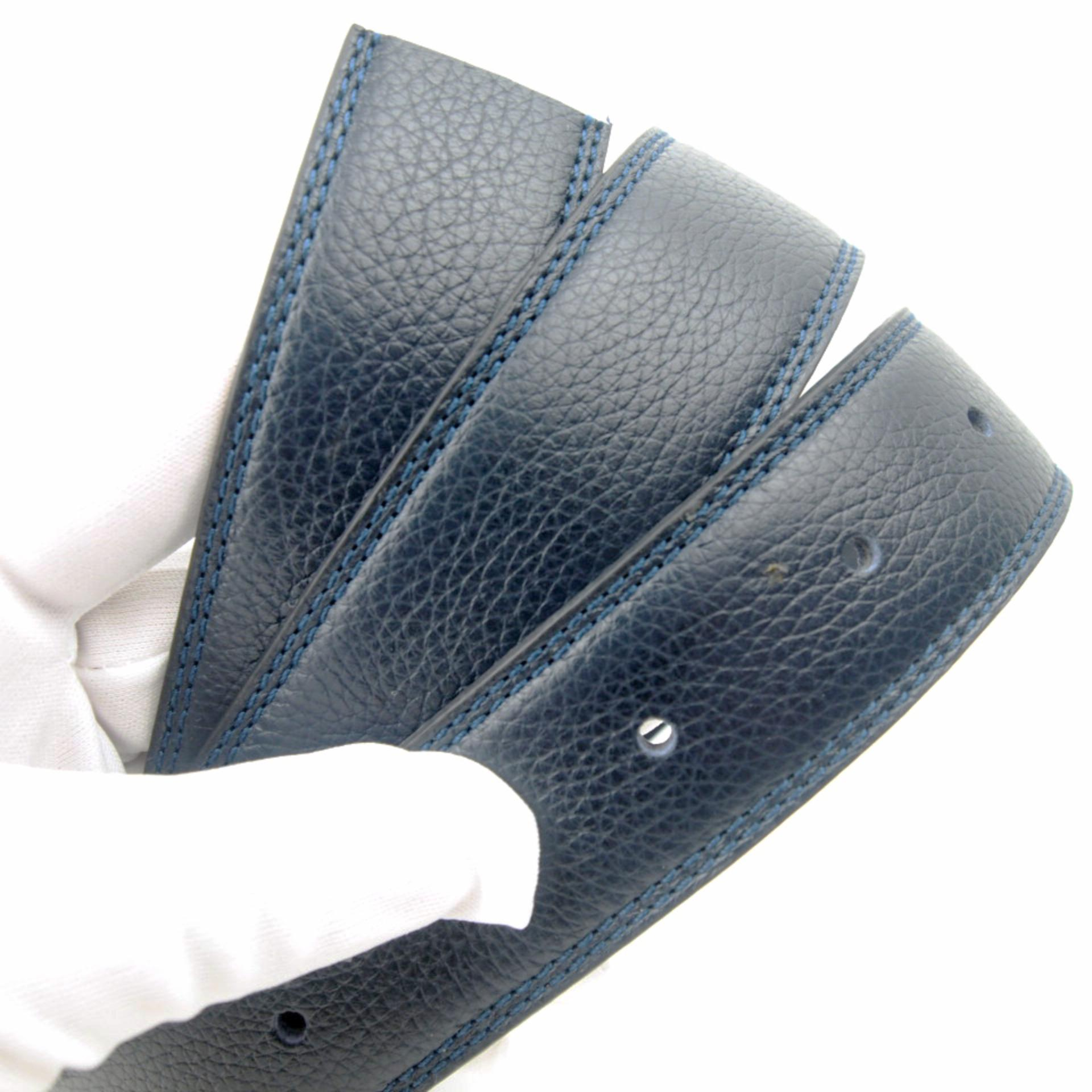 Gesper Genuine Leather Tali Pinggang Kulit Asli Tipe Lubang Tanpa Kepala Ukuran Lebar