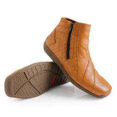 Gino Mariani Men's Shoes Elario 1 Leather - Coklat Muda