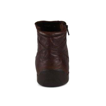 Gino Mariani Men's Shoes Elario 1 Leather - Coklat tua .