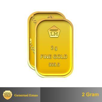 "Gold - Emas 2 Gram - Logam Mulia 999.9 Sertifikat Antam - ""Authorized Seller"""