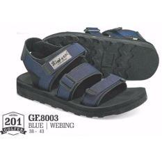 Golfer Adventure Sandal - Sandal Gunung GF.8003 (Blue)