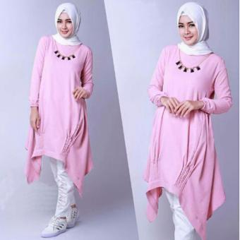 Grateful Tunik Mozza - Baby Pink