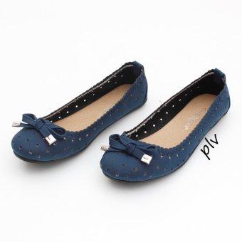 Gratica Sepatu Flat Shoes BD13 - Navy