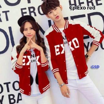 GSD - Couple Jaket Keren XO Red
