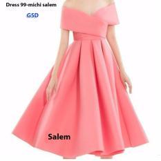 Spesifikasi Grosir Dress Mini Dress Brukat 9015 Soft Pink Source Grosir Dress 9741