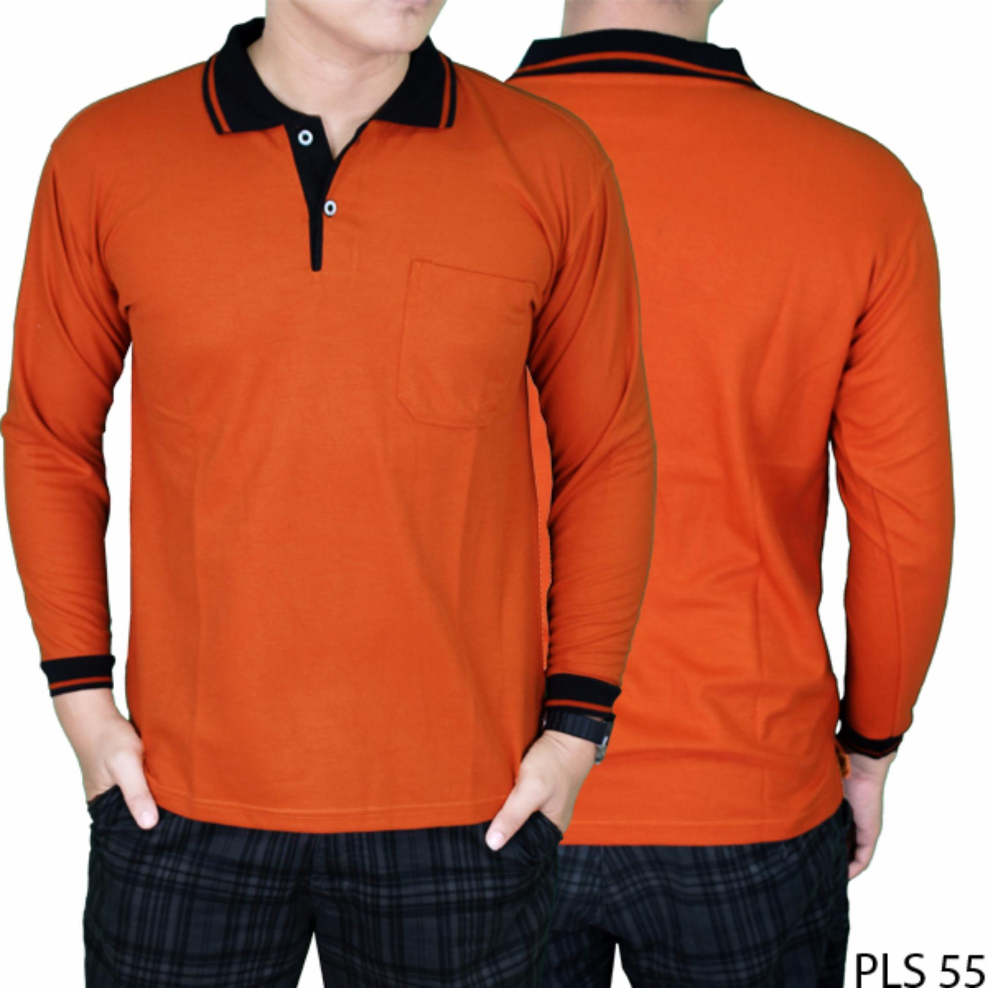 Gudang Fashion Sweater Pria Elegan Abu WIKIPRICE Source · Gudang Fashion Polo Shirt Pria Lengan Panjang