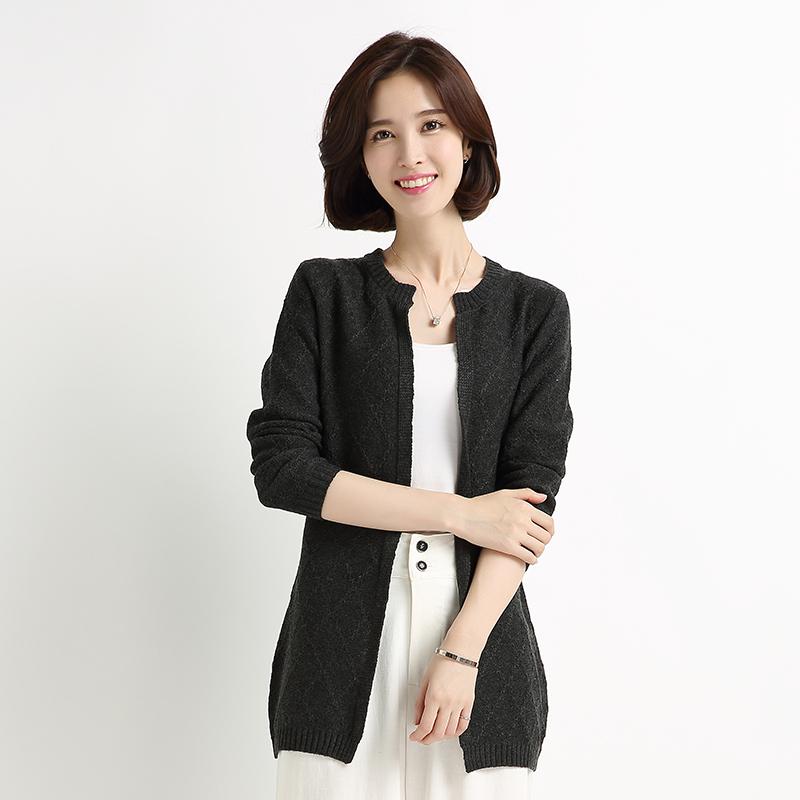 Flash Sale Heng Yuan Xiang musim semi dan musim gugur baru bagian panjang wanita sweater (