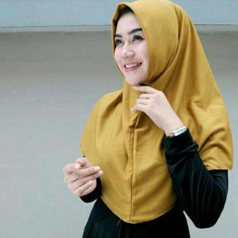 harga Hijab Jilbab Kerudung Instan Najwa - Jilbab Kaos Katun TC Premium - Hijab Kerudung Murah Premium Lazada.co.id