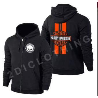 Hoodie Harley Davidson Keren / Jaket Sweater Hoodie Harley Davidson ...