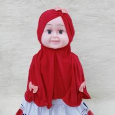 HQo Kerudung Anak Bayi Zaina / Jilbab Anak Bayi / Jilbab Bayi / Hijab Pashmina Instan Anak