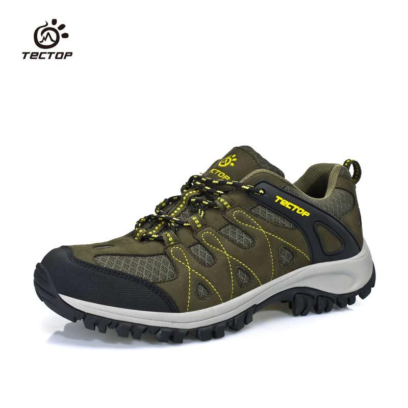 Sepatu Gunung Pria Anti Licin Anti Air Santai Tentara Hijau - Daftar ... 4204409e17