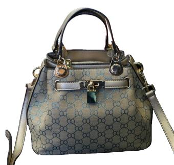Harga NEW European Style Retro Fashion Lady Handbag - Blue