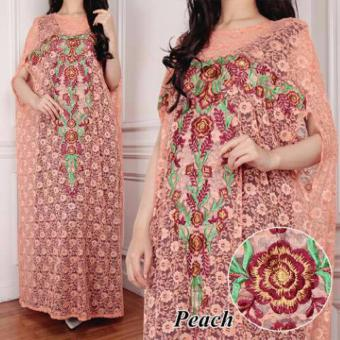 Harga Grateful Kaftan Mila - Peach