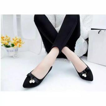Harga Arlaine Belly Flat Shoes [Black]