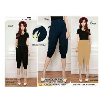 SB collection Celana Pendek Luna Short Pant Jumbo-Cream