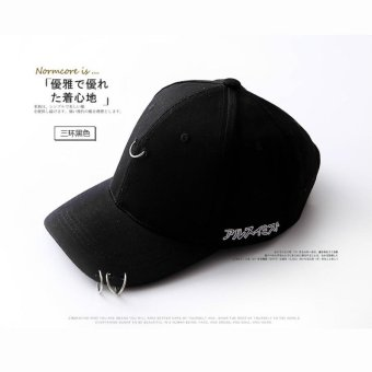 Harga Chitoso Brand Korean version of the new female baseball cap after rough letter hoop empty buckle duck tongue hat AL64 - intl