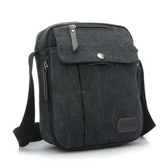 Harga Santorini Tas Pria Men Vintage Canvas Multifunction Travel Satchel Messenger Shoulder Bag