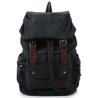 Harga Leather Backpack - Hitam