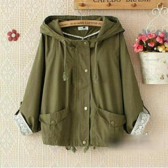Gallery Fanny Ol-Shop Cafedo Army Jacket