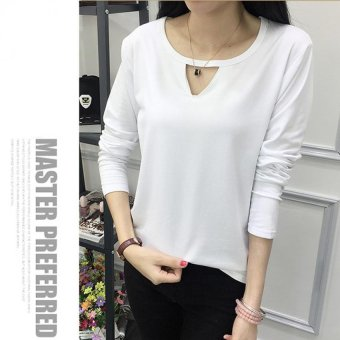 Harga Labelledesign Blouse Laticy LongSleeve - White