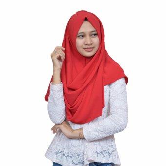 Gsd Hijab Thalita Red .