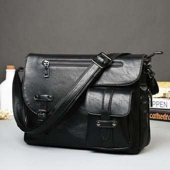 Business Leisure Men Single Shoulder Bag Fashion Men Single Shoulder Bag Korean Crossbody Bag Fashion Leisure