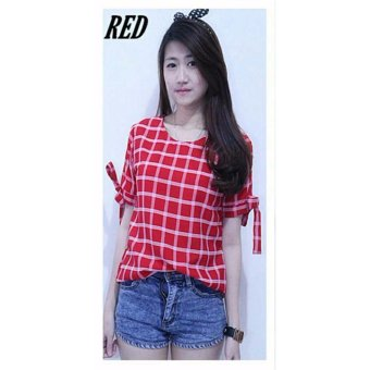 Harga Queenshop - LJ AL Elis Square - Red