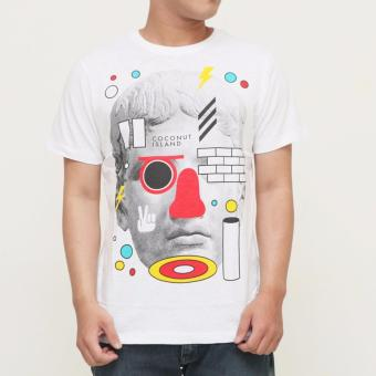 Harga Coconut Island Men Heritage Tee - Bright White