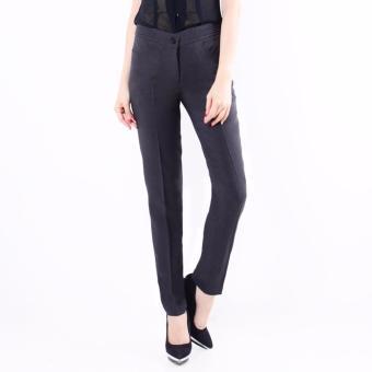 Celana panjang wanita Slim Fit Formal - (Dark Grey) C008
