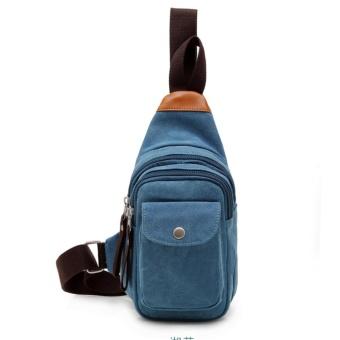 Men Bag Retro Shoulder Bag Crossbody bag Messenger Bag Casual - Intl - intl