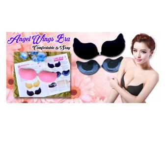 Harga QuincyLabel Angel Wings Bra - Hitam