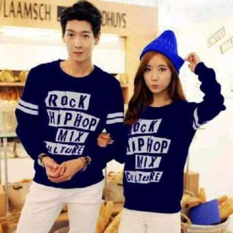 Jakarta Couple - Sweater Couple Hip Rock Nevy