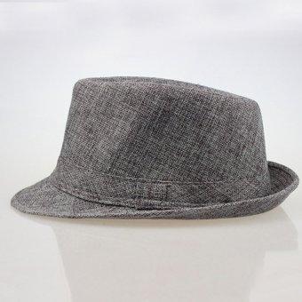 Cocotina unisex topi Panama Pantai musim panas matahari jazz gangster wanita Trilby men CAP topi fedora
